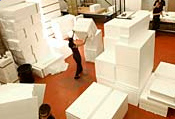 Polystyrene Deliveries
