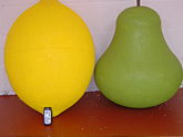 Polystyrene Fruit Shapes